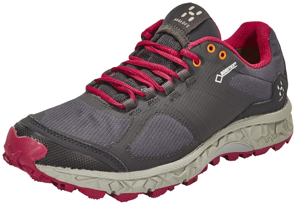 Haglöfs Gram AM II GT Shoes Women Magnetite/Volcanic Pink 38 2016 Trail Running Schuhe s6ecwXBkVy